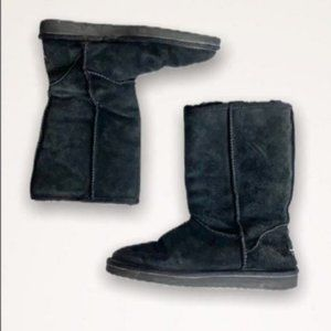 Koolaburra by UGG Black Suede Boots size 7
